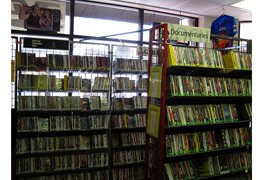 An independent movie store