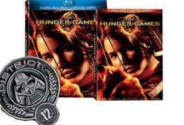 'The Hunger Games' with Best Buy keychain