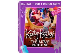 Target's exclusive 'Katy Perry: Part of Me' box art