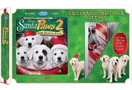 Walmart's 'Santa Paws 2: The Santa Pups' with leash