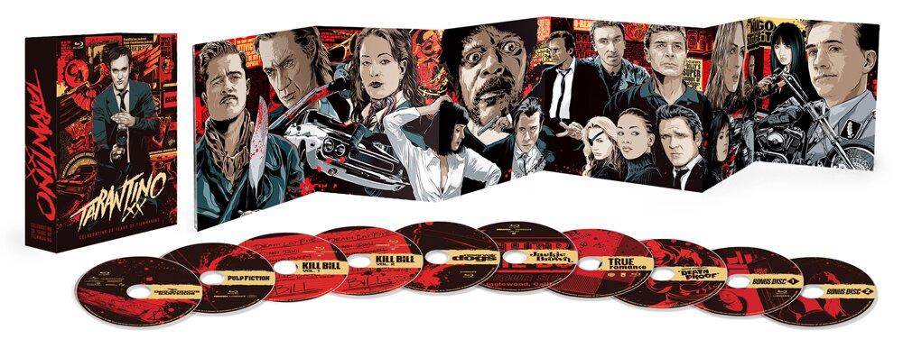 Tarantino XX, Lionsgate