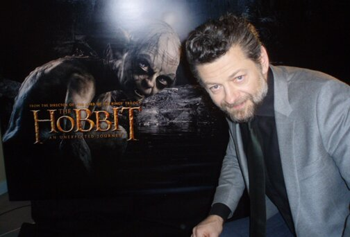 Andy Serkis, who plays Gollum in