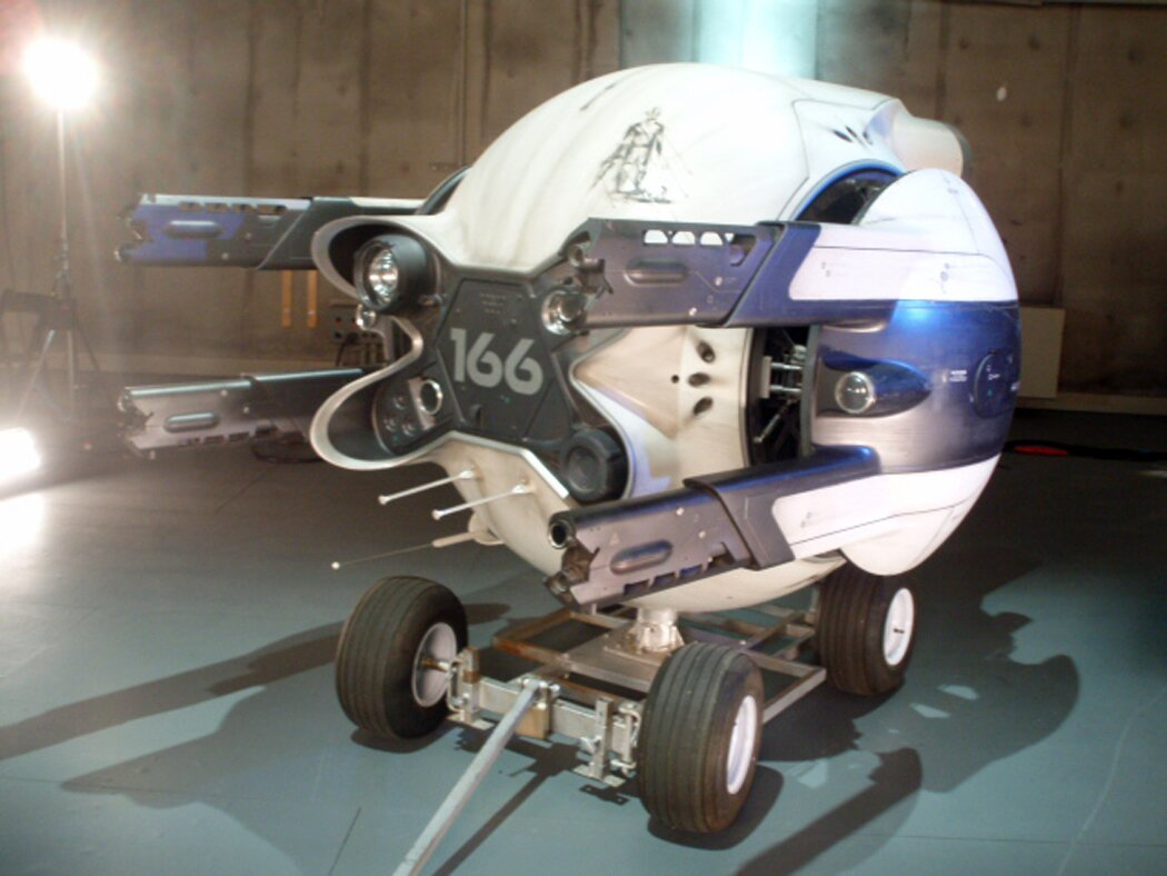 One of the drones from the Universal film 'Oblivion.'