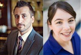 (L-R): Jason Gish and Shana Rosencrans