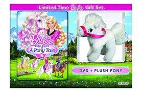 Walmart's 'Barbie' DVD with plush pony