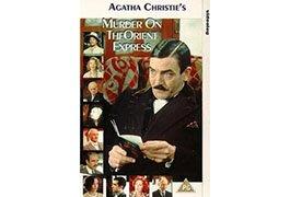 Albert Finney portrays Detective Hercule Poirot in the 1974 'Murder on the Orient Express' movie