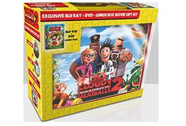 Walmart's 'Cloudy With a Chance of Meatballs 2' lunchbox packaging