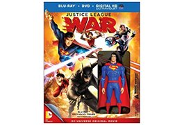 Best Buy's 'Justice League: War' with figurine