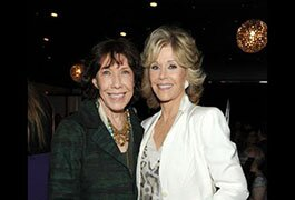 Lily Tomlin and Jane Fonda at the 2013 Emmys