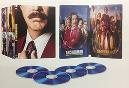 Walmart's 'Anchorman' double-feature steelbook