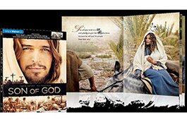 Walmart's 'Son of God' with photo book