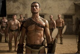 Late actor Andy Whitfield in