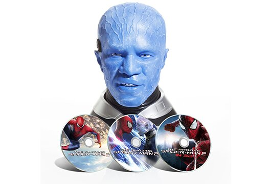 Amazon's 'Amazing Spider-Man 2' Electro Head