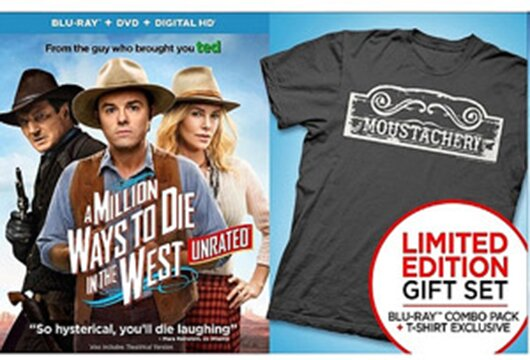 Walmart's 'A Million Ways to Die in the West' with T-shirt