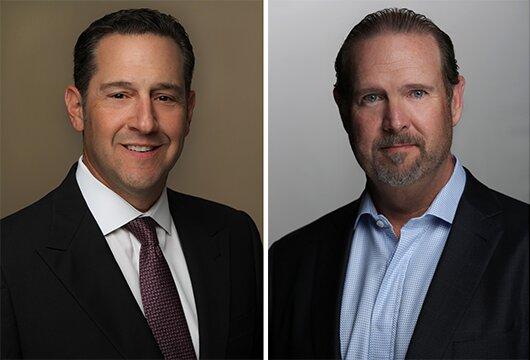 Ron Schwartz and Jim Packer