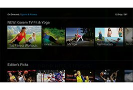 Gaiam TV Fit & Yoga SVOD service on Xfinity TV