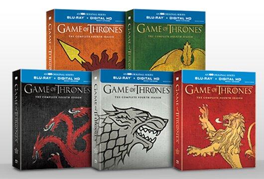 Best Buy's 'Game of Thrones' Season 4 exclusive covers