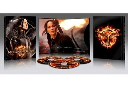 Target's 'Mockingjay — Part 1' Blu-ray exclusive edition