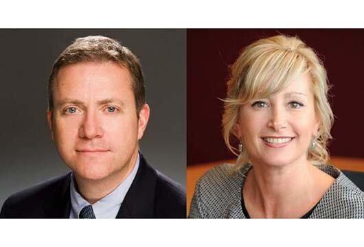 SPHE executives Aodan Coburn and Kim Overall