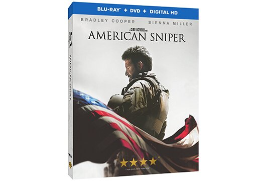 Warner's top-selling retail title in 2015 was 'American Sniper'