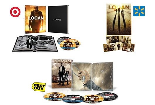 'Logan' Blu-ray exclusives at Target, Walmart and Best Buy